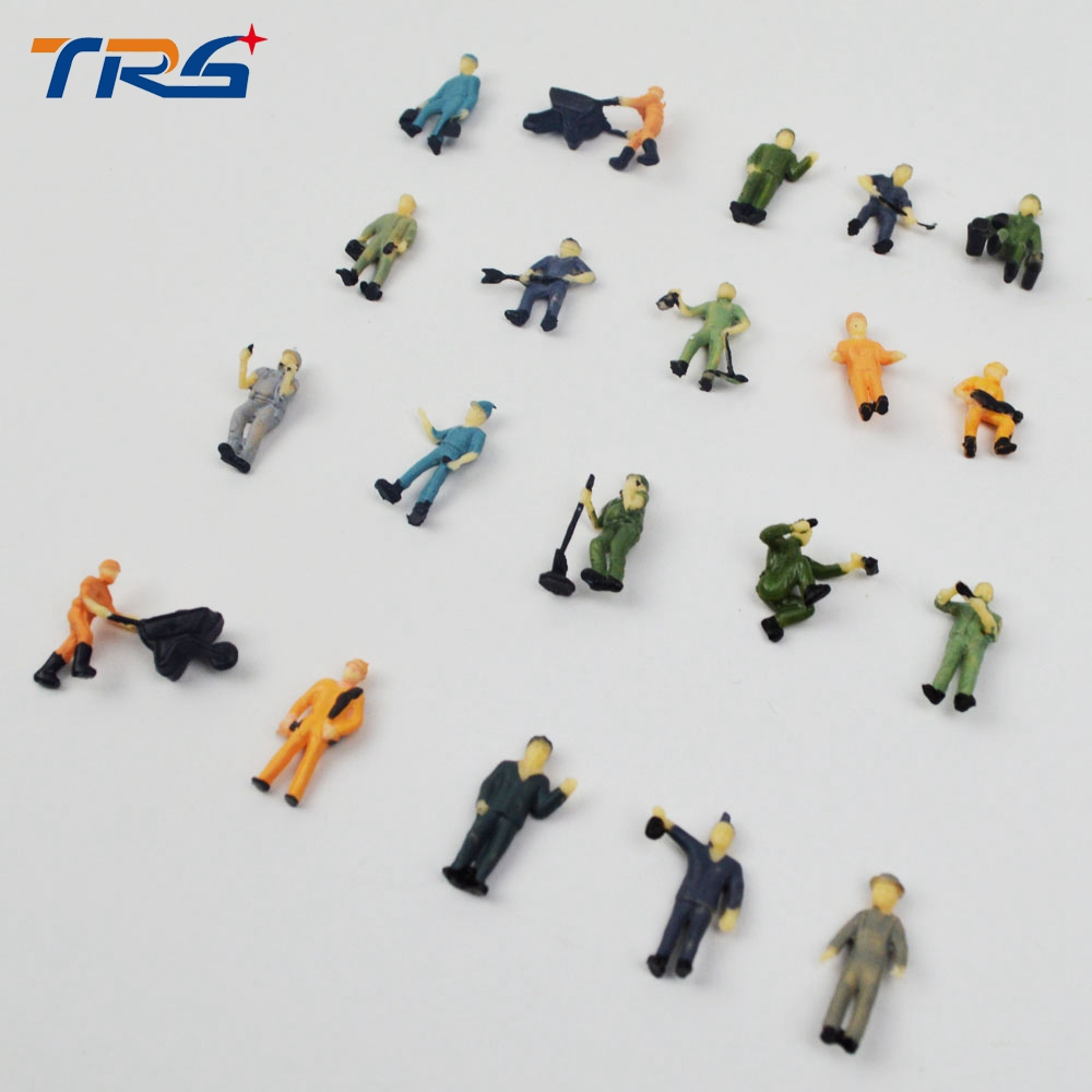 railway worker, 1/87 figure for architectural model figure,mini figure