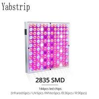 Yabstrip de espectro completo que promueve el crecimiento de plantas de flores lámpara LED de 45W de Cultivo LED Luz de jardín hidropónico verde