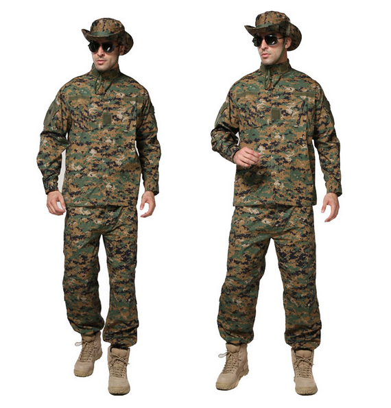 Army military tactical cargo pants uniform camouflage tactical military bdu combat uniform us army woodland digital camo Sets usmc digital urban camo v3 bdu uniform set war game tactical combat shirt pants ghillie suits