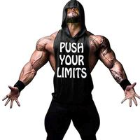 Fashion 2017 Summer USA Male Solid Tank Tops Big Shoulders Blank Golds Men Bodybuilding Fitness Men