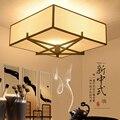 Потолочные светильники в китайском стиле  квадратный светильник для гостиной  оригинальное ретро-освещение для спальни  ресторана LU717106