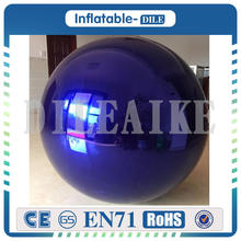 Free Shipping 1.5m PVC Inflatable Mirror Ball For Sale free shipping pvc inflatable ball inflatable mirror ball inflatable balloon