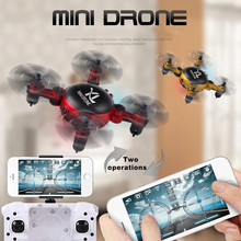 Foldable Mini Drone Pocket Folding Quadcopter Altitude Hold Headless WIFI RC Helicopter remote control toys toys & hobbies