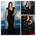 Sexy Kim Kardashian Black Lace Mermaid Dresses Short Sleeves Beaded V Neck Celebrity Evening Party Gowns