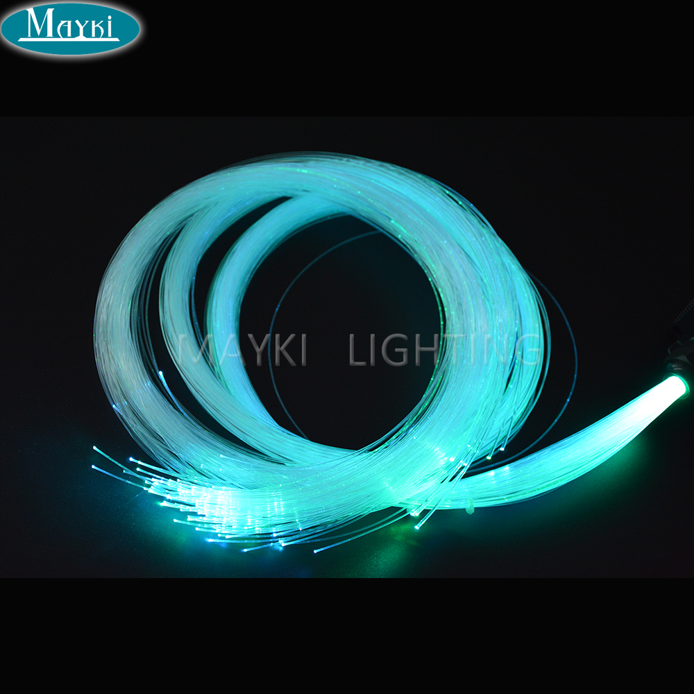 Maykit 1 0mm 1500m Roll PMMA Plastic Optical Fiber Cable End Light Mitsubishi Japan Brand For