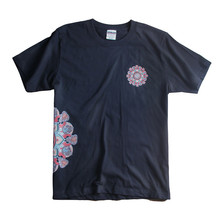 KODASKIN 2018 New Short-Sleeved T-shirt Male Loose Round Neck half-sleeved Shirt Wind Rrinting Fashion Summer