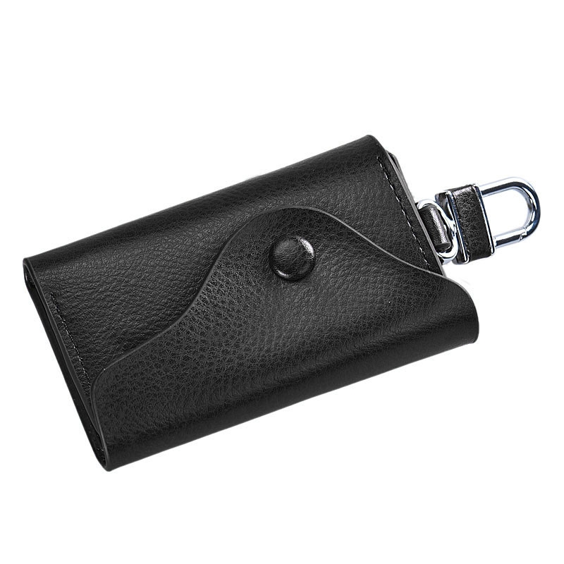 2017 Hot Sale Men Leather Small Wallet High Quality Car Key Chain Holder 6 Ring Pouch Case portefeuille homme High Quality terse key wallet men lettering handmade leather calfhide bespoke wallet men key holder exquisite hand patina good quality