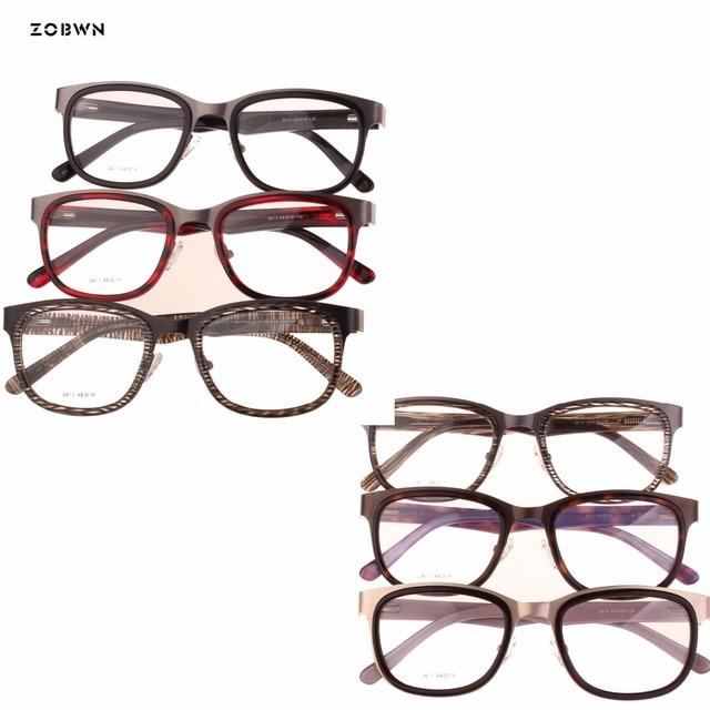 ce1f6c16a2 ZOBWN Eyeglasses optical glasses oculos spectacle frame eyeglasses frame  eye glasses frames men women clear lenses