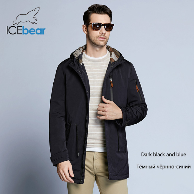 ICEbear Trench Coat Men...