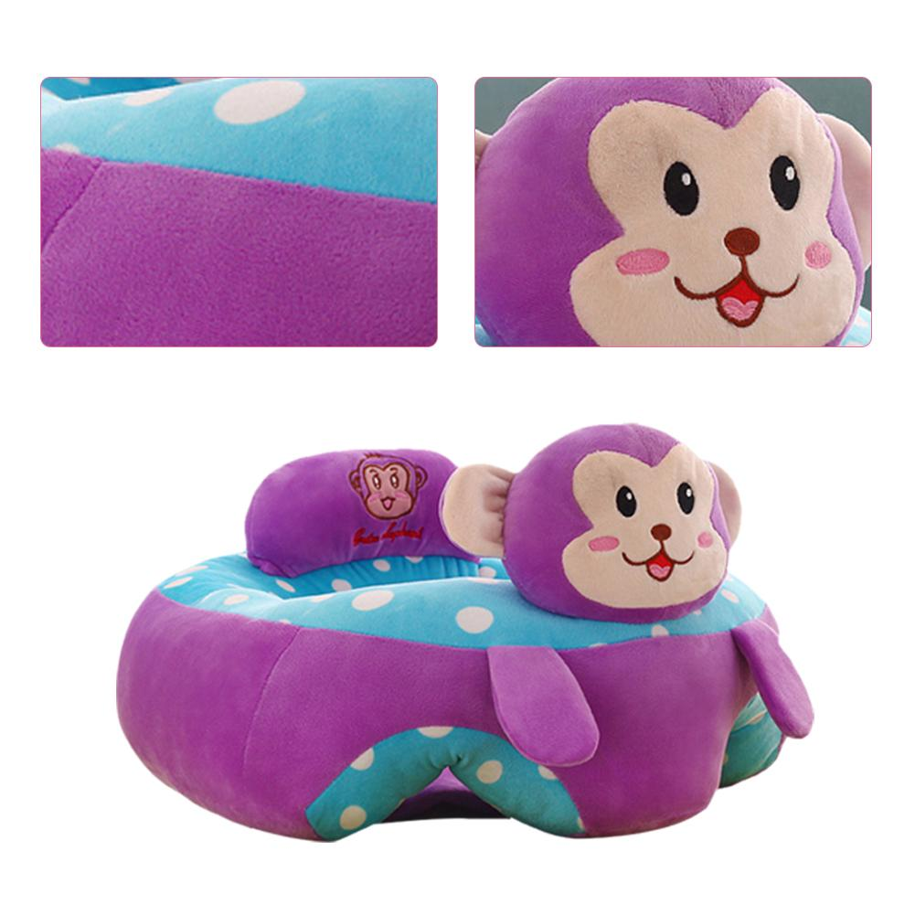 Baby Colorful Baby Learning Sitting Seat Newest Baby Cartoon Seats Sofa Plush Support