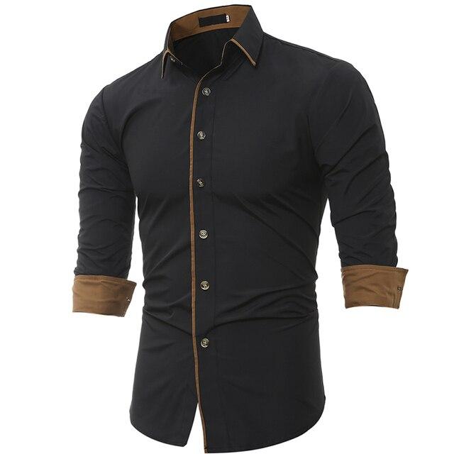 Men Shirt Brand 2017 Male High Quality Long Sleeve Shirt Casual ...