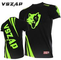 VSZAP CHALLENGER MMA Short Sleeved T Shirt Training Fitness Fighting Soft And Disinfectant Male