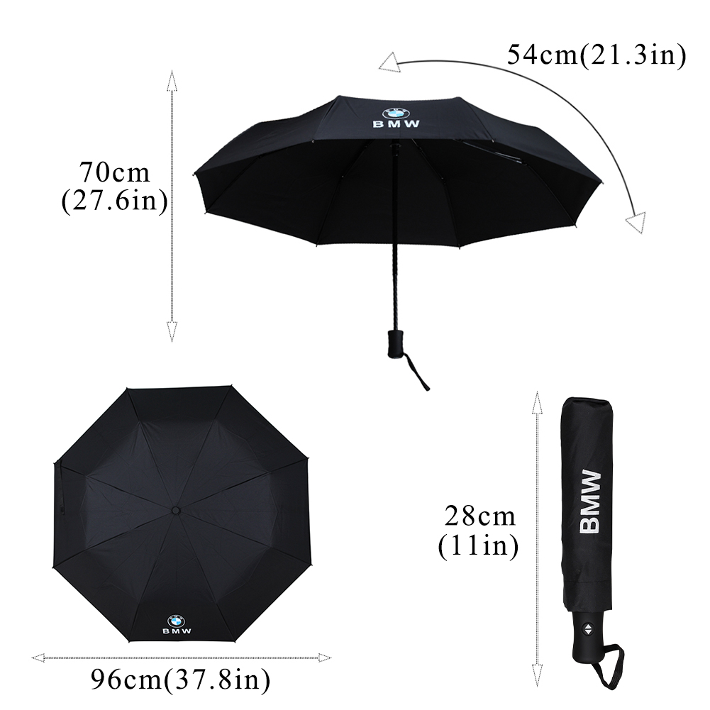 Drop Shipping Windproof Full-Automatic Folding Audi BMW Lexus Designs Umbrella Sunny Rain Protection for Men Women Kids