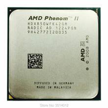 Amd phenom ii x4 850 3.3 ghz duad-core cpu porcessoe hdx850wfk42gm soquete am3