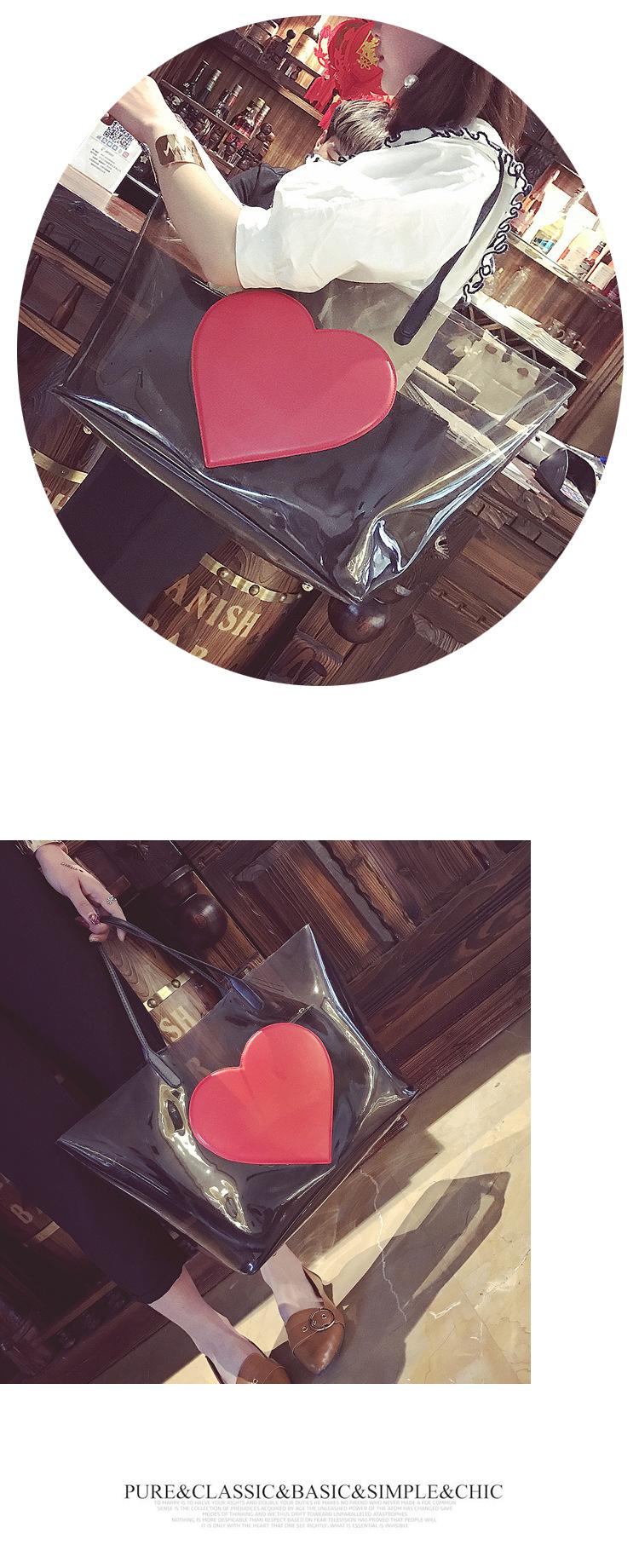 sac de plage PVC Clair Transparent 2019 New Fashion