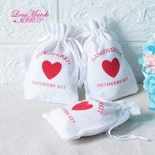 50 шт., свадебные сувениры в форме сердца, 9 х14 см