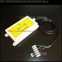 Free shipping RFID RF card car landmark site sensor RS232 serial maximum sensing distance 20CM