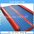 Free Shipping 8x3m Inflatable Tumble Track For Sale,Inflatable Air Tumble Track