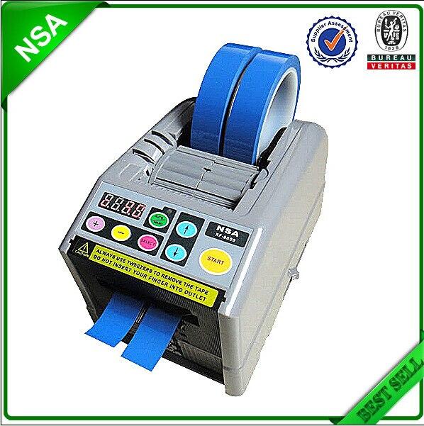 ZCUT-9 Automatic Tape Dispenser Automatic Tape Cutting Machine, 6-60mm width, 5-999mm length 110V/220V EU/US PLUG handif automatic tape dispenser zcut 9
