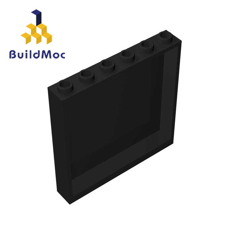 BuildMOC 59350 35286 Panel 1x6x5 brick Technic Changeover Catch For Building Blocks Parts DIY Educational Creative gift Toys