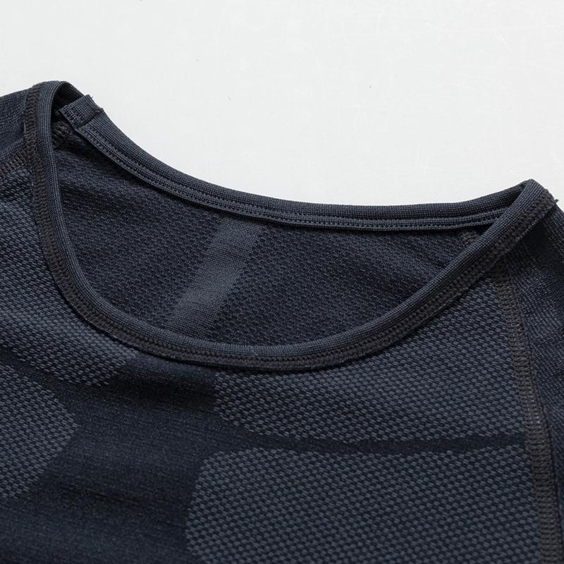 YD 2019 Жаңа қысу қысқа жейде T Shirt Фитнес - Спорттық киім мен керек-жарақтар - фото 5