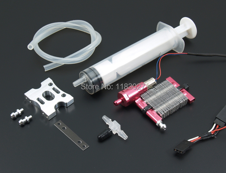 Cool Down System Self Circulation Liquid cooled Thermostat System 450 Class Heli