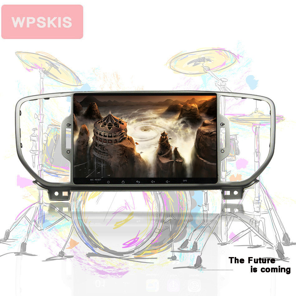 Android 10.0 Octa core car dvd player for KIA sportage 2016 2017 2018 kx5 gps navigation stereo headunit car Audio Auto Video image