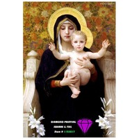 Products For Crafts DIY Diamond Painting Religious PAINTINGS Diamond Embroidered With Angels Set For Embroidery Diamond