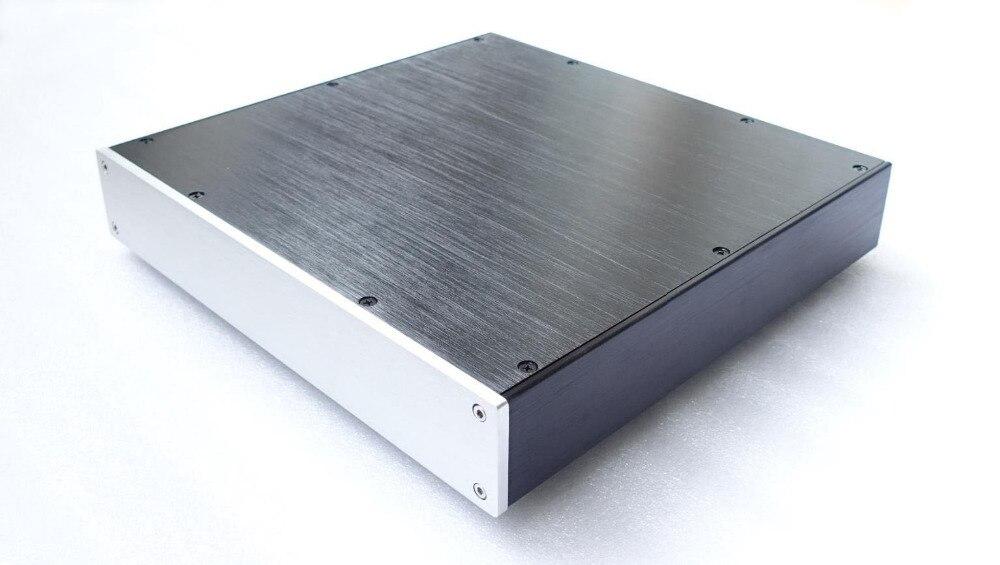BZ3205A bricolage HIFI aluminium amplificateur de puissance châssis préamplificateur boîtier DAC décodeur