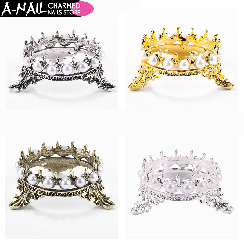 Desk Accessories & Organizer Learned Crown Pearls Dog Cat Fruit Pencil Pens Brushs Stand Rack Decor Salon Home Diy Manicure Nail Carving Drawing Pens Brushes Holder Last Style Pen Holders