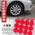 Car-Styling 20 unids Cubo De La Rueda Tuerca de Tornillo de La Cubierta Para Kia Carens Ceed OPTIMA Mohave Borrego CADENZA SHUMA Picanto