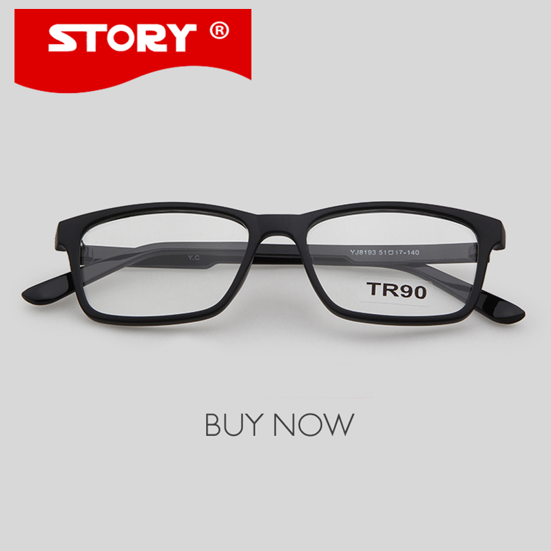 Best Plastic Frame Glasses : Aliexpress.com : Buy STORY 5 Colors New Plastic TR90 Eye ...