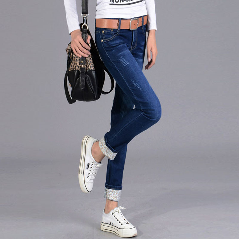 Popular Roll Cuff Jeans-Buy Cheap Roll Cuff Jeans lots from China ...