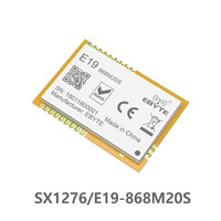 E19-868M20S SX1276 868 МГц 20dBm беспроводной модуль SPI интерфейс LoRa SMD 100 мВт LoRa передатчик приемник штамп антенна отверстия