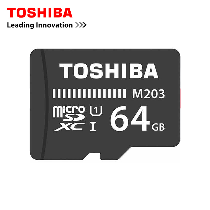 Toshiba Memory Card 64GB Micro sd card Class10 UHS-1 Flash Cards Memory Card Microsd for T