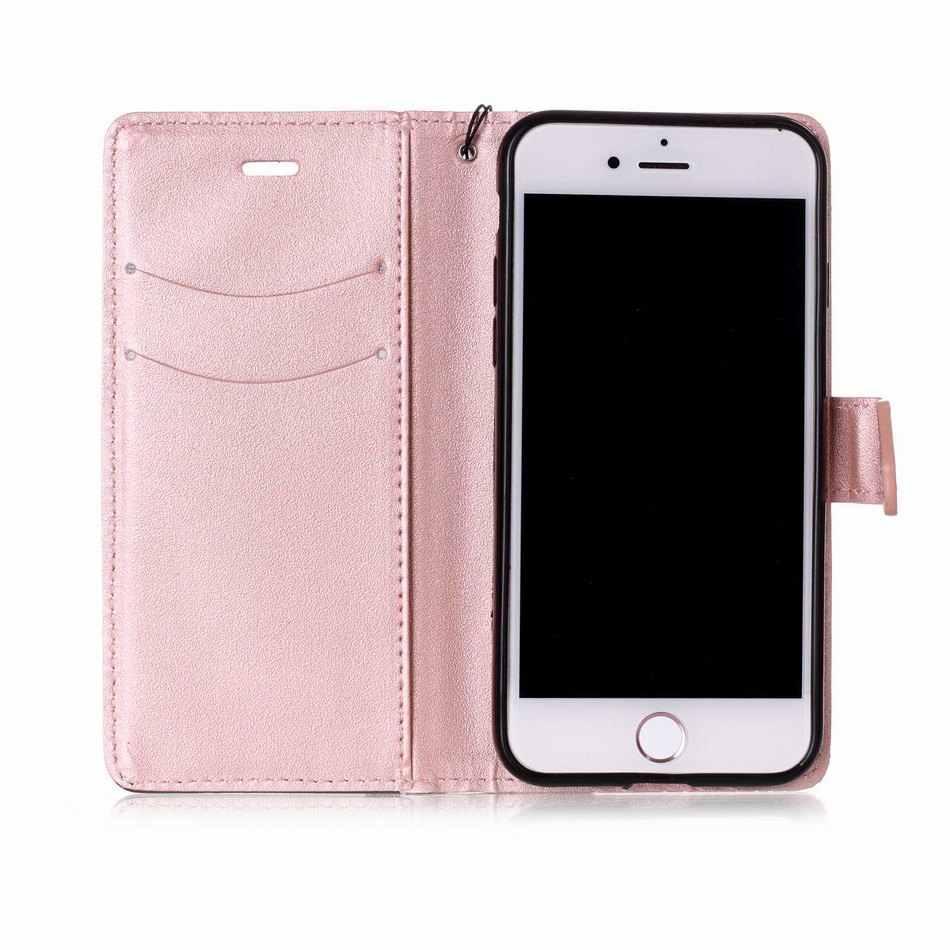 ธุรกิจกระเป๋า sFor apple iPhone X XS สำหรับกรณี iPhone 6 6 S 7 8 Plus Hit สีหนังสือ PU หนัง Flip Fundas E09Z