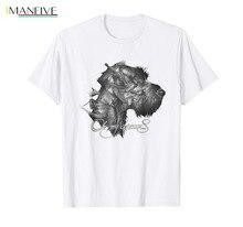 Drahthaar Oh, My Dreams Dog Art Graphic White T-Shirt new 2019 Funny Print T Shirt Men Hot Brand Clothing недорого