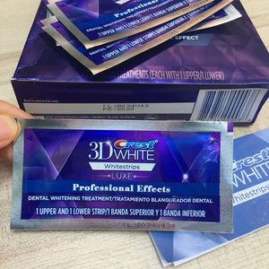 Image 4 - 5 กระเป๋า 10 แถบ 3DสีขาวWhitestrips Luxe Professional Effects Teeth Whitening Stripsฟอกสีฟันเจลต้นฉบับOralสุขอนามัย