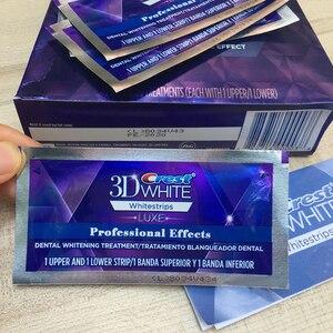 Image 4 - 5 פאוץ 10 רצועות 3D לבן Whitestrips Luxe אפקטים מקצועיים שיניים הלבנת רצועות ג ל הלבנת המקורי היגיינת פה