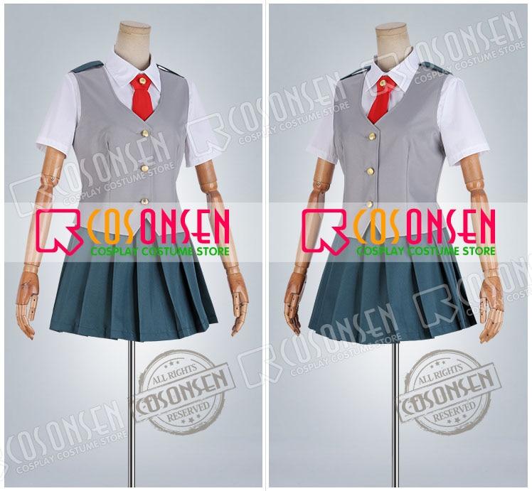 Boku no Hero Academia Nejire Hado My Hero Academia Uniform Cosplay costume School uniform All Size COSPLAYONSEN