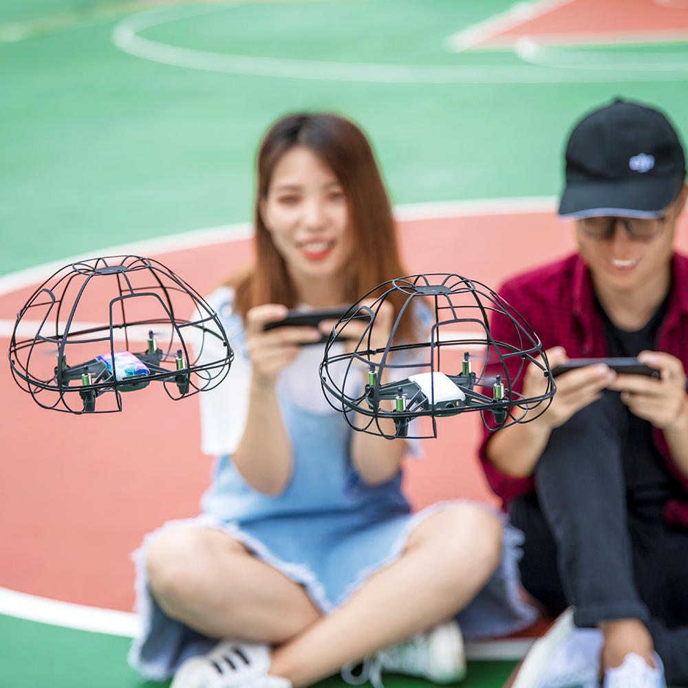 PGYTECH nueva funda protectora esférica para DJI Tello Drone luz protección completa protectores accesorios.