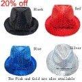 5 шт./пакет шляпы унисекс модные женские шапки магическое шоу шапки, выполняющих моды фетровых взрослых и детей