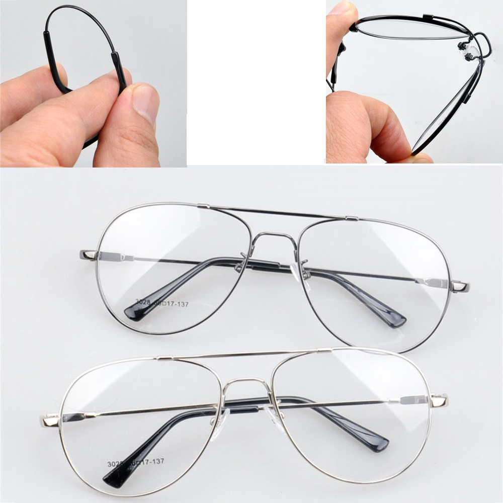 Cubojue Prescription Glasses Men Women Memory Metal Aviation Myopia Optical