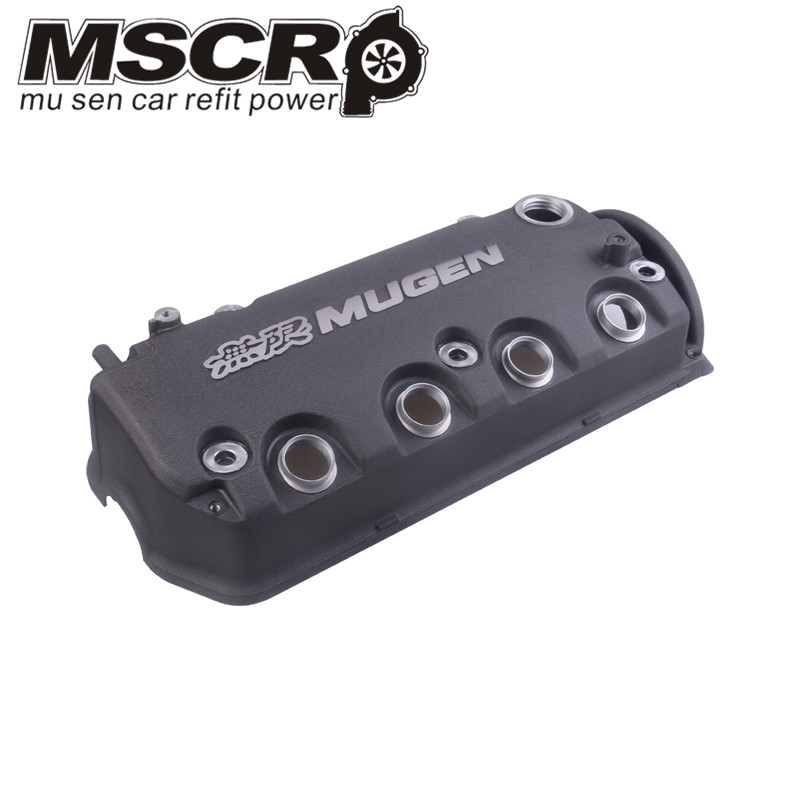 Image 4 - MUGEN Type R Rocker Valve chamber cover For Honda Civic D16Y8 D16Y7 VTEC SOHC-in Cylinder Body & Parts from Automobiles & Motorcycles