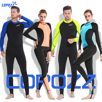 Copozz Full Body Wetsuit Men Women Youth Sun Protection Swimming Suit For Scuba Diving Swimming Surfing