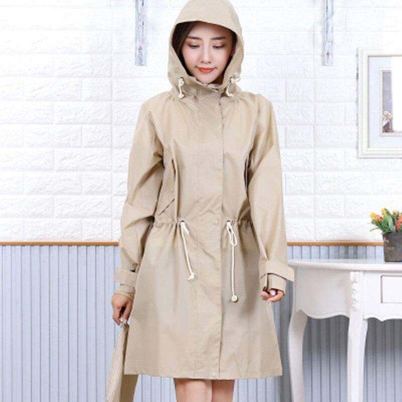 cloakThin Raincoat Women Waterproof Light Rain Coat Ponchos Jackets Female Chubasqueros capa de chuva in Raincoats from Home Garden