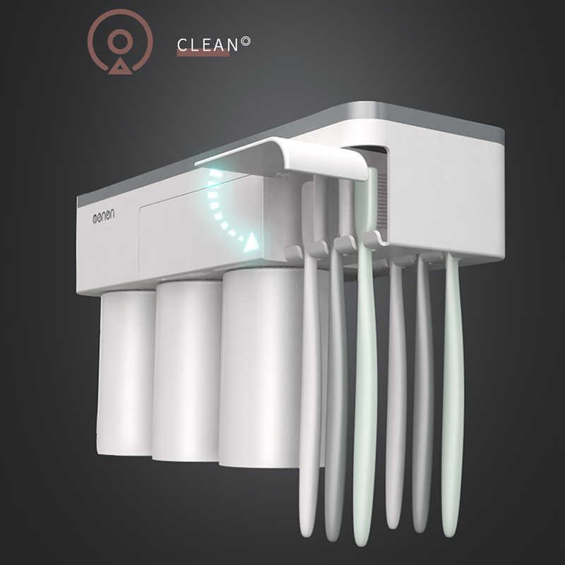 BAISPO magnétique Adsorption porte-brosse à dents inversé tasse montage mural salle de bain nettoyant support de rangement salle de bain accessoires ensemble