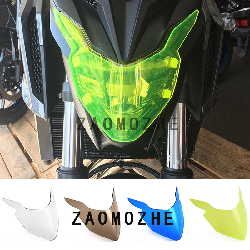 For Honda CB650F CBR650F <font><b>CB500X</b></font> 2017 <font><b>2018</b></font> Motorcycle Acrylic Front Headlight protection screen lens Cover image