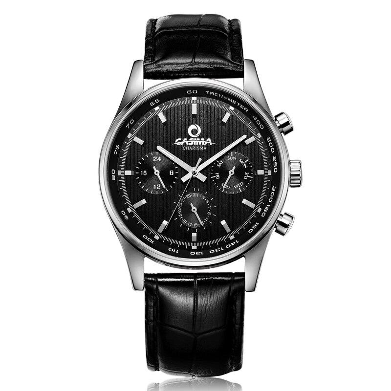 Prix pour Marque de luxe montres hommes de 2016 plus haut mode d'affaires robe casual sport quartz montre-bracelet hommes étanche 100 m casima #5114
