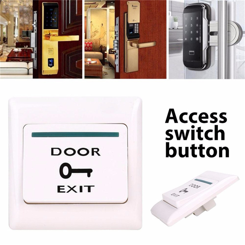 Door Exit Button Release Push Switch for access control system Electronic Door Lock DC12V Door Lock Switch Access High Quality electronic door exit push button door release open switch door access control